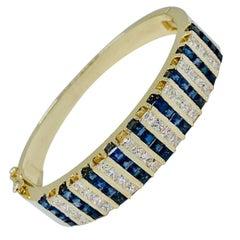 Sapphire Modern Bracelets