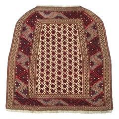 1022, Vintage Turkmen Bokhara Rug
