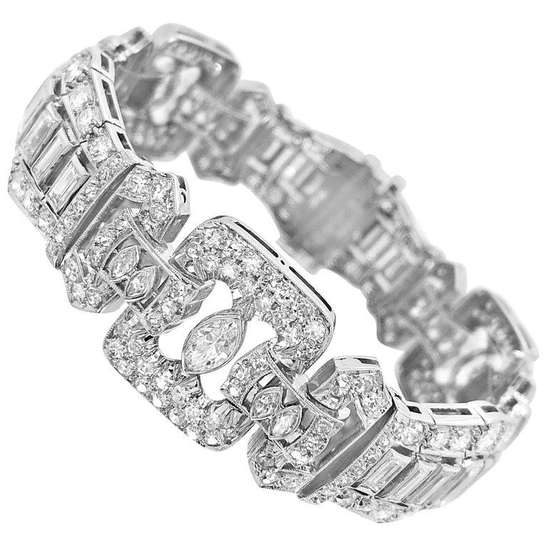10.25 Carat Diamond Bracelet, Graff For Sale