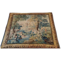 1026 - Wonderful Large 18th Century Fine French Aubusson Tapestry