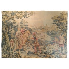 1029 - Beautiful Vintage French Jaquar Tapestry