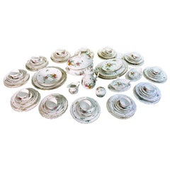 103-Piece Meissen Porcelain Dinner Service for 12
