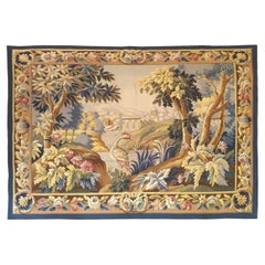 1037 - Aubusson 19th Century Tapestry