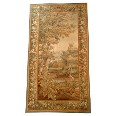 1039, Beautiful French Aubusson Tapestry from the End of the 19th Century