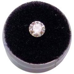 """1.04 Carat 'Loose' Round Brilliant """"Leo"""" Diamond"""