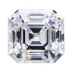 10.40 Carat D Flawless Square Emerald Cut Diamond GIA Certified