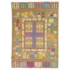 1044, 20th Century Needle Carpet, France