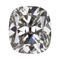 1.05 Carat Cushion K Color Vs2 Clarity Old Mine Cut Loose Diamond