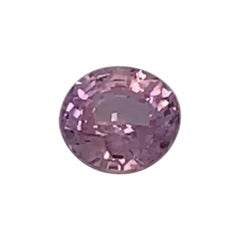 1.06 Carat Oval Pink Sapphire GIA Certified Unheated