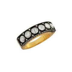 1.06 Carat Rosecut Diamond Heritage 18 Karat Ring