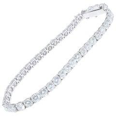 10.67 Carat Diamond Tennis Bracelet
