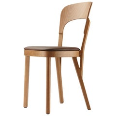 107 P Solid Wood Chair Designed by Robert Stadler