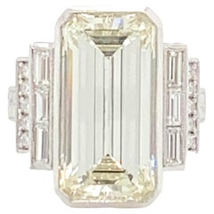 10.95 Carat Diamond Ring
