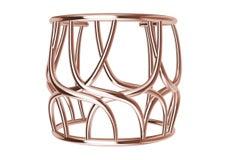 10 Karat Pink Gold Cuff Bracelet
