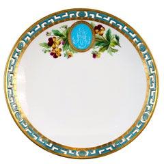 11 Antique Minton Pate-Sur-Pate Hand Painted Floral Plates