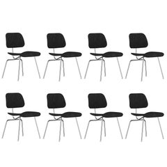 Black Eames DCM Chairs