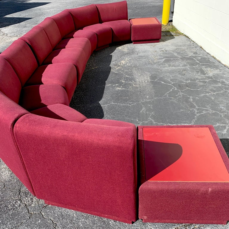 11-Piece Modular Living Room Attributed to Milo Baughman for Thayer Coggin For Sale 3