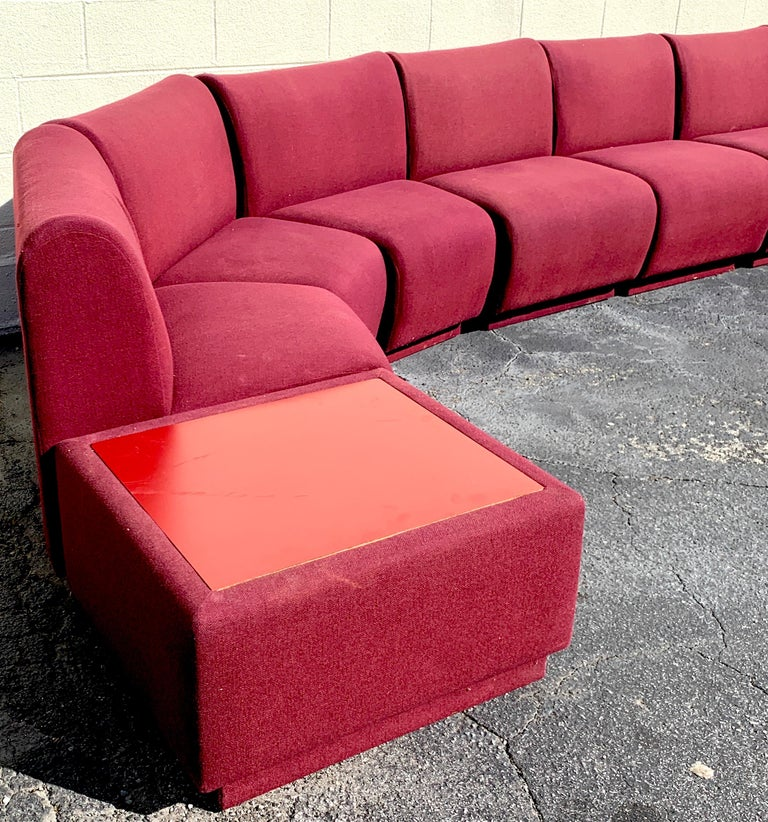 American 11-Piece Modular Living Room Attributed to Milo Baughman for Thayer Coggin For Sale