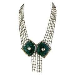 Art Deco Beaded Necklaces