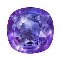 11,04 Carat Natural Color Change Blue Purple Sri Lankan Sapphire
