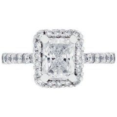 1.11 Carat GIA Certified Diamond Engagement Ring