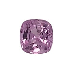 1.12 Carat Cushion Premium Pink Color Natural Sapphire GIA