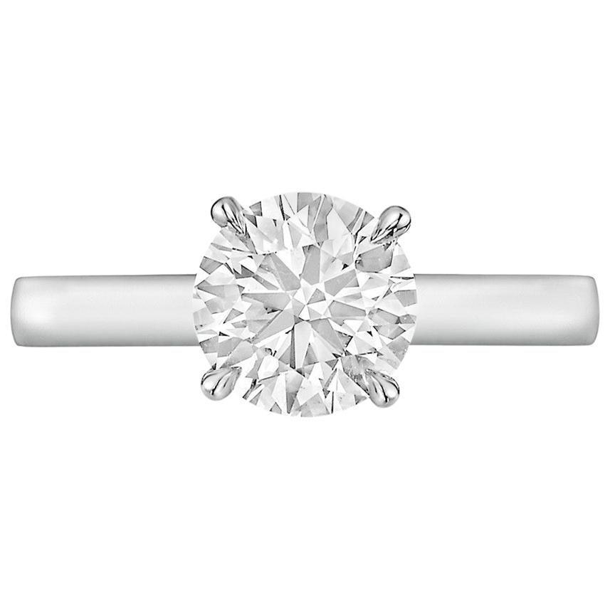 1.12 Carat Round Brilliant Diamond Ring 'H/VS1'