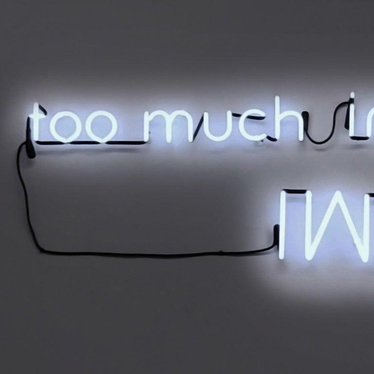 Too Much Information - Contemporary Sculpture by Esmeralda Kosmatopoulos