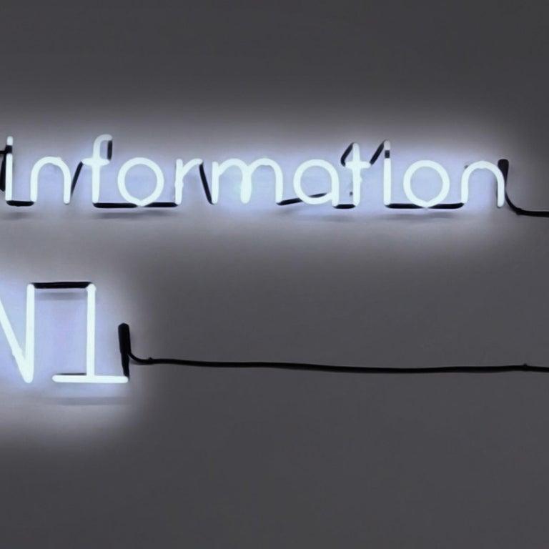 Too Much Information - Black Still-Life Sculpture by Esmeralda Kosmatopoulos