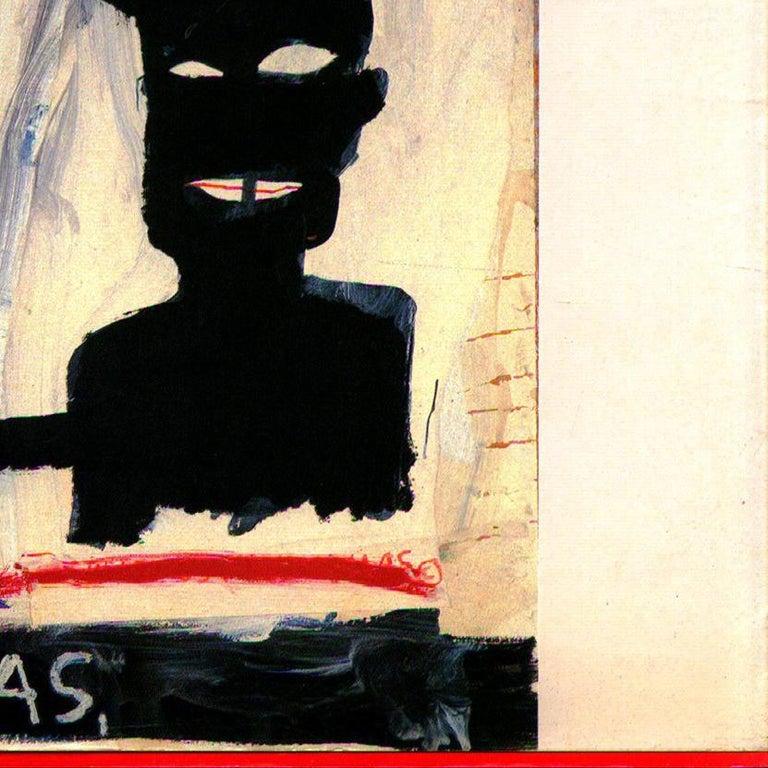 Vintage Basquiat Paris Exhibition Catalog (Basquiat Texas)  For Sale 1
