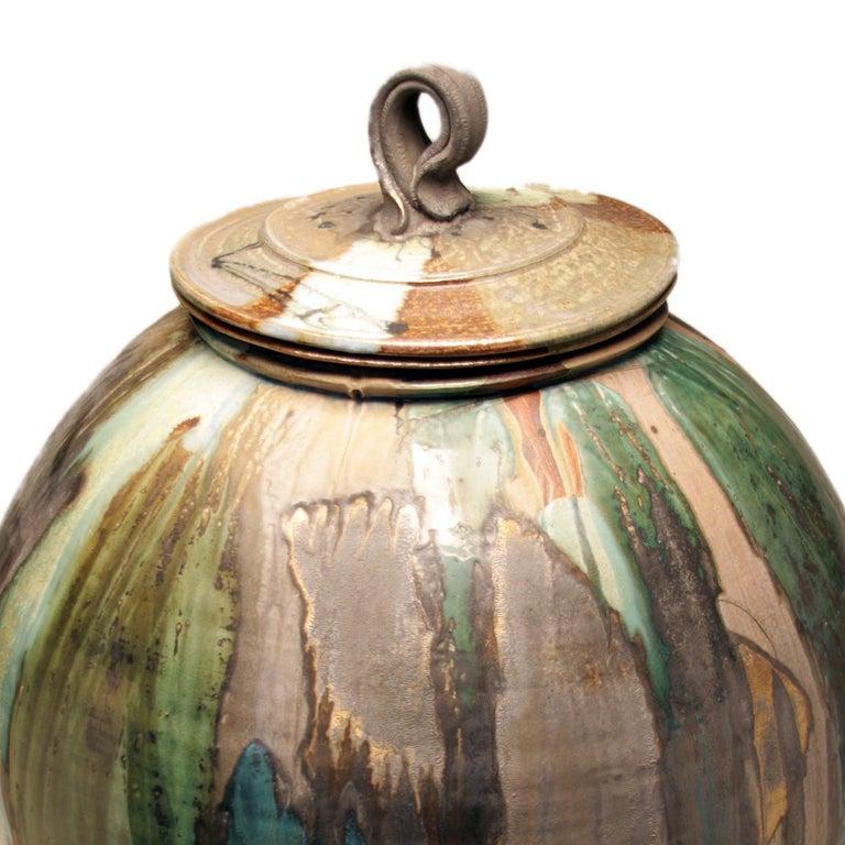wood fired salt/soda glazed stoneware