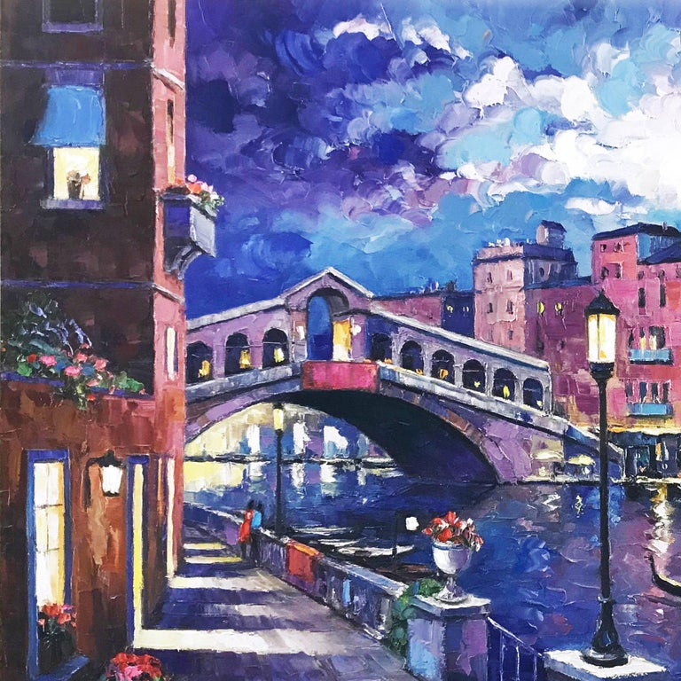 RIALTO BRIDGE - Contemporary Art by John Zaccheo