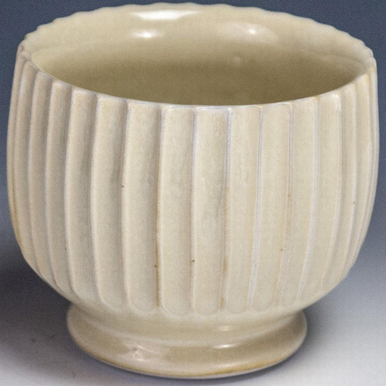 Carved Yellow Cup For Sale 1
