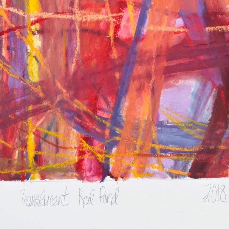 Translucent Red Pond, 2018 For Sale 1