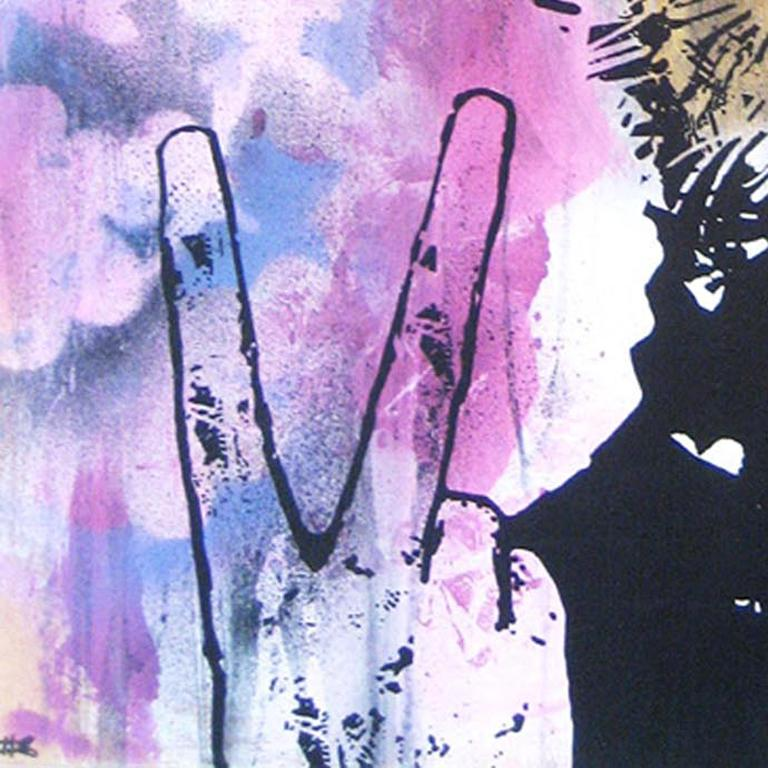 Green Fingers unique work limited edition screenprint street art , urban art  For Sale 1