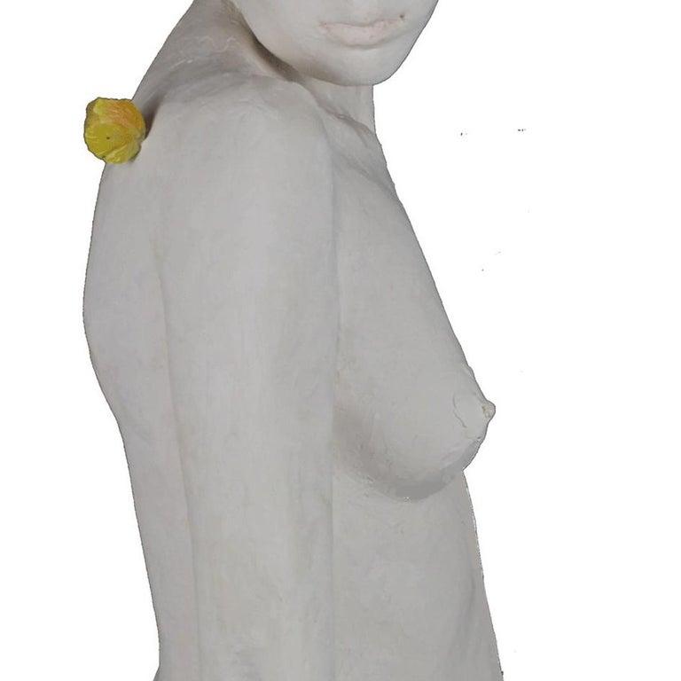 Le Papillon - Gray Figurative Sculpture by Isabelle Corniere