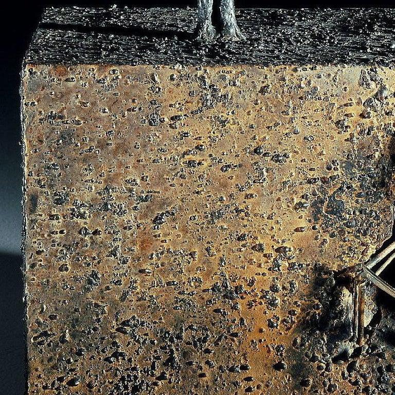 Archeology - Jean-Paul Réti, 21st Century, Contemporary metal sculpture For Sale 3