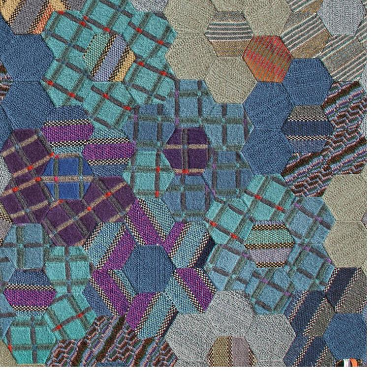 Number 1, Large Woolen Tapestry Wall Art by Missoni For Sale 3