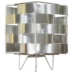 """Large French Modernist """"Uranus"""" Table Lamp by Max Sauze"""
