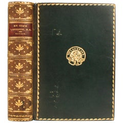 Sir Edwin Landseer R.a. by James a. Manson, 1st Edition, 1902