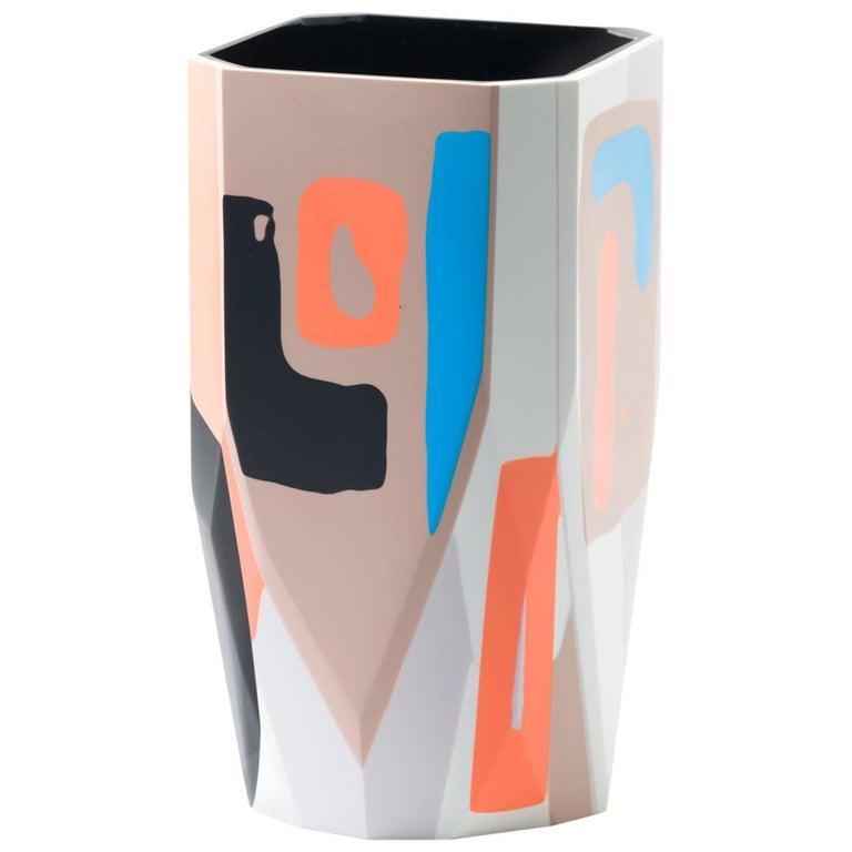 Unique Contemporary Resin Kalahari Vase For Sale