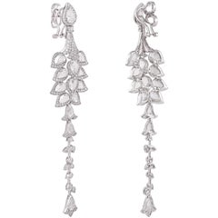 11.26 Statement Earring from Rarever with Rose cut Diamonds