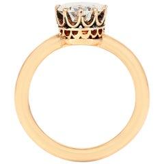 1.13 Carat Victorian Engagement Ring