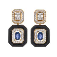 Sapphire More Earrings