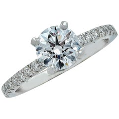 1.15 Carat GIA Graded Diamond Engagement Ring