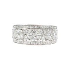 1.15 Carat Marquise or Round Lace Ring 18 Karat Gold Fashion Ring Cocktail Ring
