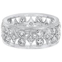 Roman Malakov 1.18 Carat Diamond Fashion Band Ring