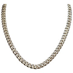 11.83 Carat Diamond Cuban Necklace