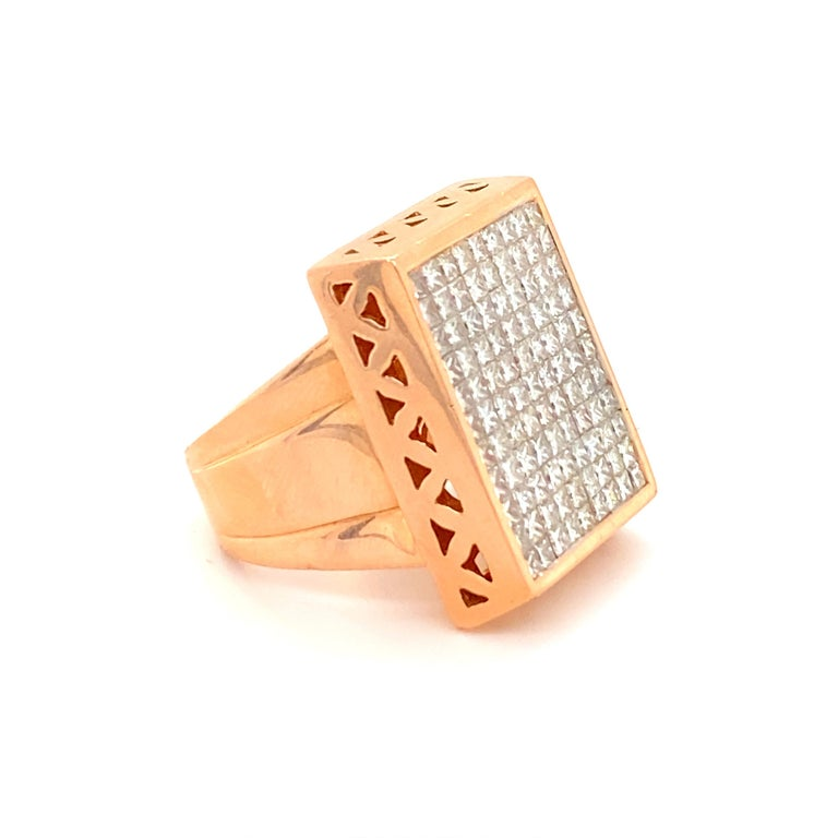 12 Carat Diamond Ring In Excellent Condition In Carlsbad, CA