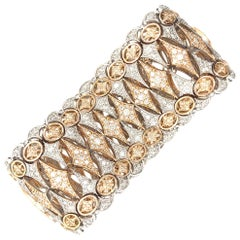 12 Carat Diamonds Bracelet 18 Karat Gold